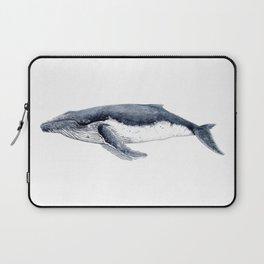 Humpback whale (Megaptera novaeangliae) Laptop Sleeve