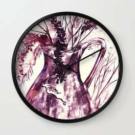 Gentle Caresses Of Nature Wall Clock