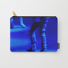 Blue Tapping Carry-All Pouch