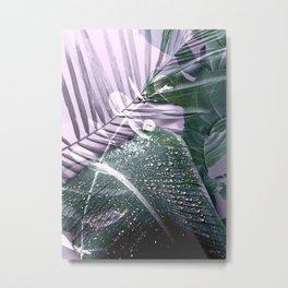 Tropical leaves 3 Metal Print