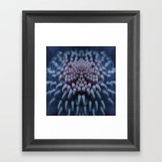 Silky Blue Framed Art Print