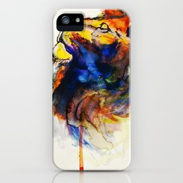 Cat of a Different Color iPhone Case