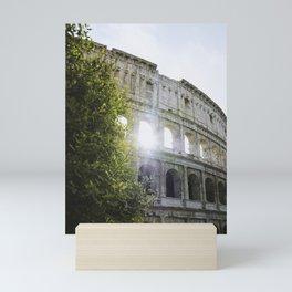 That Colosseum Shine Mini Art Print
