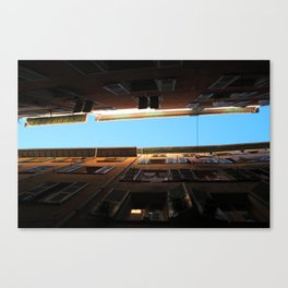 Look at the sky Canvas Print