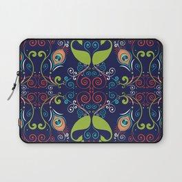 Peacock Nouveau Laptop Sleeve
