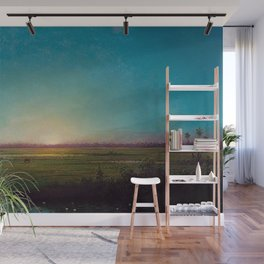 Twilight in the Florida Everglades by Martin Johnson Heade Wall Mural