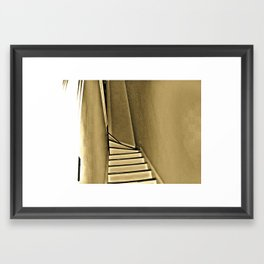stairway to haven Framed Art Print