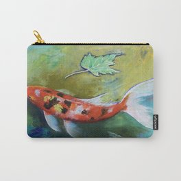 Zen Butterfly Koi Carry-All Pouch