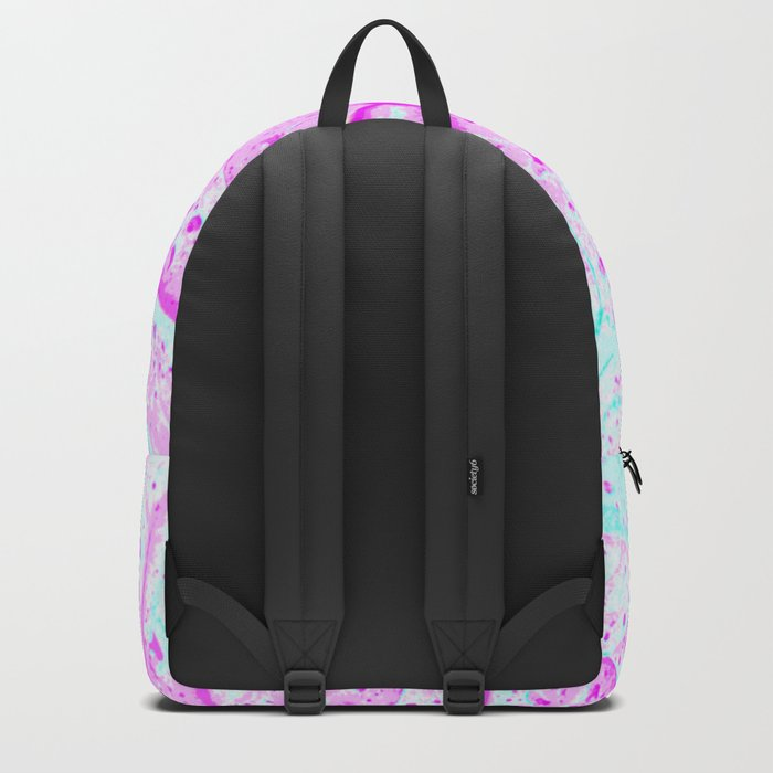 Abstract Tropical Leaf (Close Up) Backpack