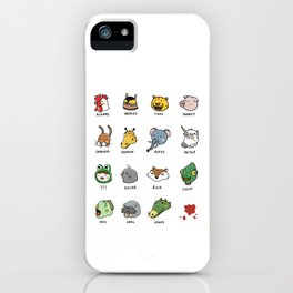 Hotline Kawaii iPhone Case
