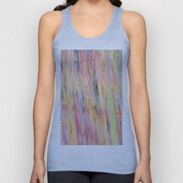 Color gradient and texture 42 Unisex Tank Top