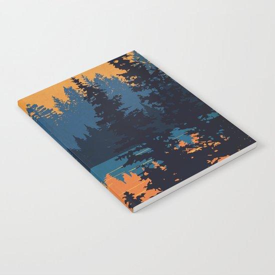 Algonquin Park Poster Notebook