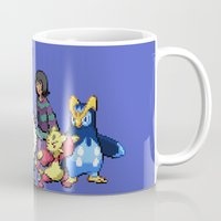 allison argent Mugs featuring PokeWolf: Allison Argent by Trickwolves