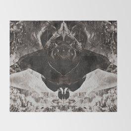 OBE B&W Throw Blanket