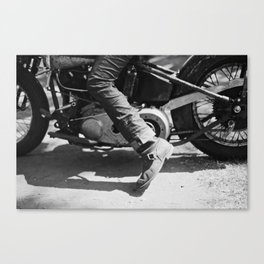 Pedal Bike Canvas Print