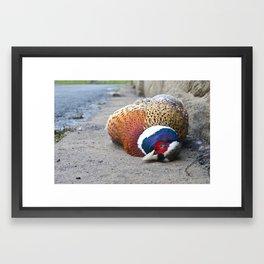 Drive safe Framed Art Print