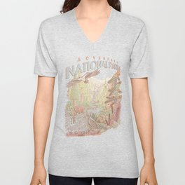 Adventure National Parks Unisex V-Neck