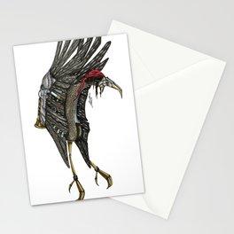 Steampunk Stork Stationery Cards