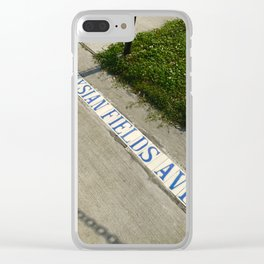 Elysian Fields Clear iPhone Case