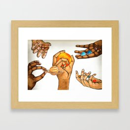 Who Controls The Universe? Framed Art Print