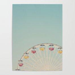 ferris wheels ... Poster