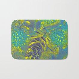 Lemon coloured Bath Mat