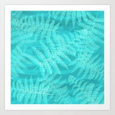 palm breeze Art Print