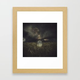 Emptiness and Sorrow Framed Art Print