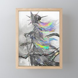 Dark Sun Framed Mini Art Print