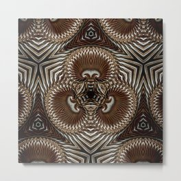 Bonitm Ornament #4 Metal Print