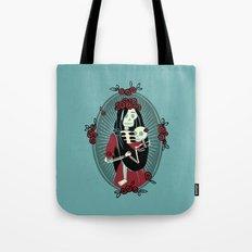 Skeleton Mother & Child - Dia de los Muertos Tote Bag