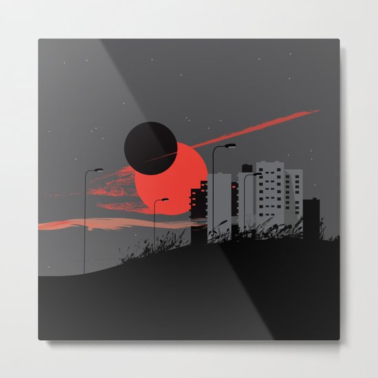 apocalypse city Metal Print