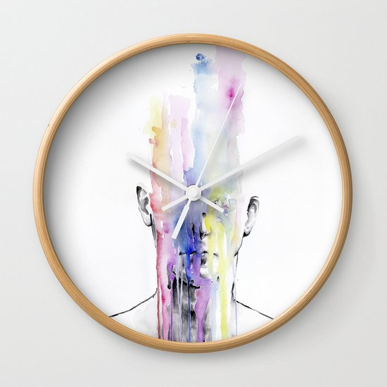 All my art is on you but you still don't hear me Wall Clock