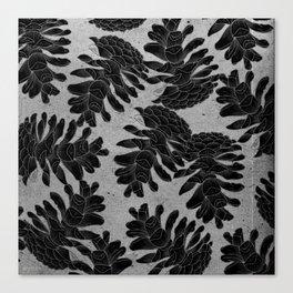 Taiga forest Canvas Print