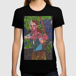 Lara on Fire T-shirt