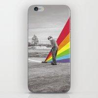 floyd iPhone & iPod Skins featuring Mr. Floyd by Blaz Rojs