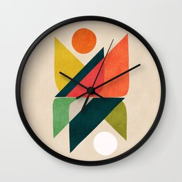 Reflection (of time and space) Wall Clock