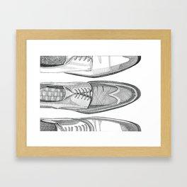 Dressed To Impress Framed Art Print