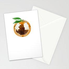 Orange Disco Stationery Cards