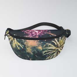 Exploding Colors Fanny Pack