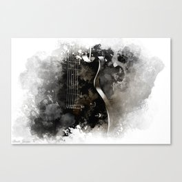 TUNED IN Canvas Print