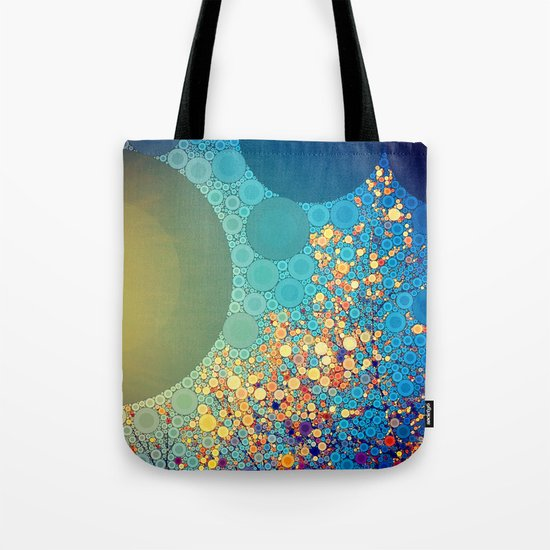 Sky and Leaves Tote Bag