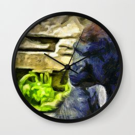 Deep Thought Wall Clock