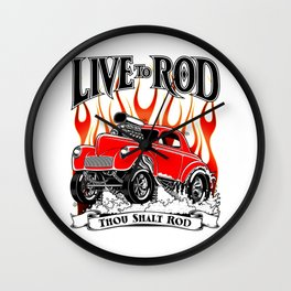 1941 WILLYS GASSER – REV1 Wall Clock