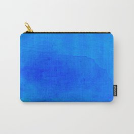 DARK BLUE WATERCOLOR BACKGROUND  Carry-All Pouch
