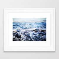 surf Framed Art Prints featuring Surf by Leah Flores