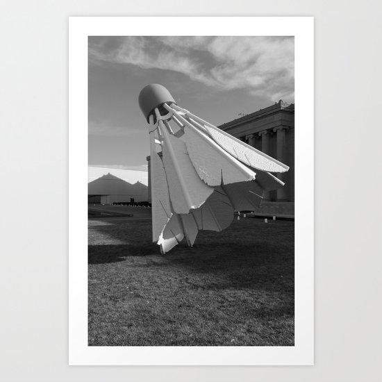 Shuttlecock Art Print