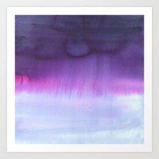 Squall Purple Art Print