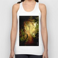 fairytale Tank Tops featuring Fairytale by Nev3r
