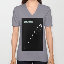 Analemma. Unisex V-Neck